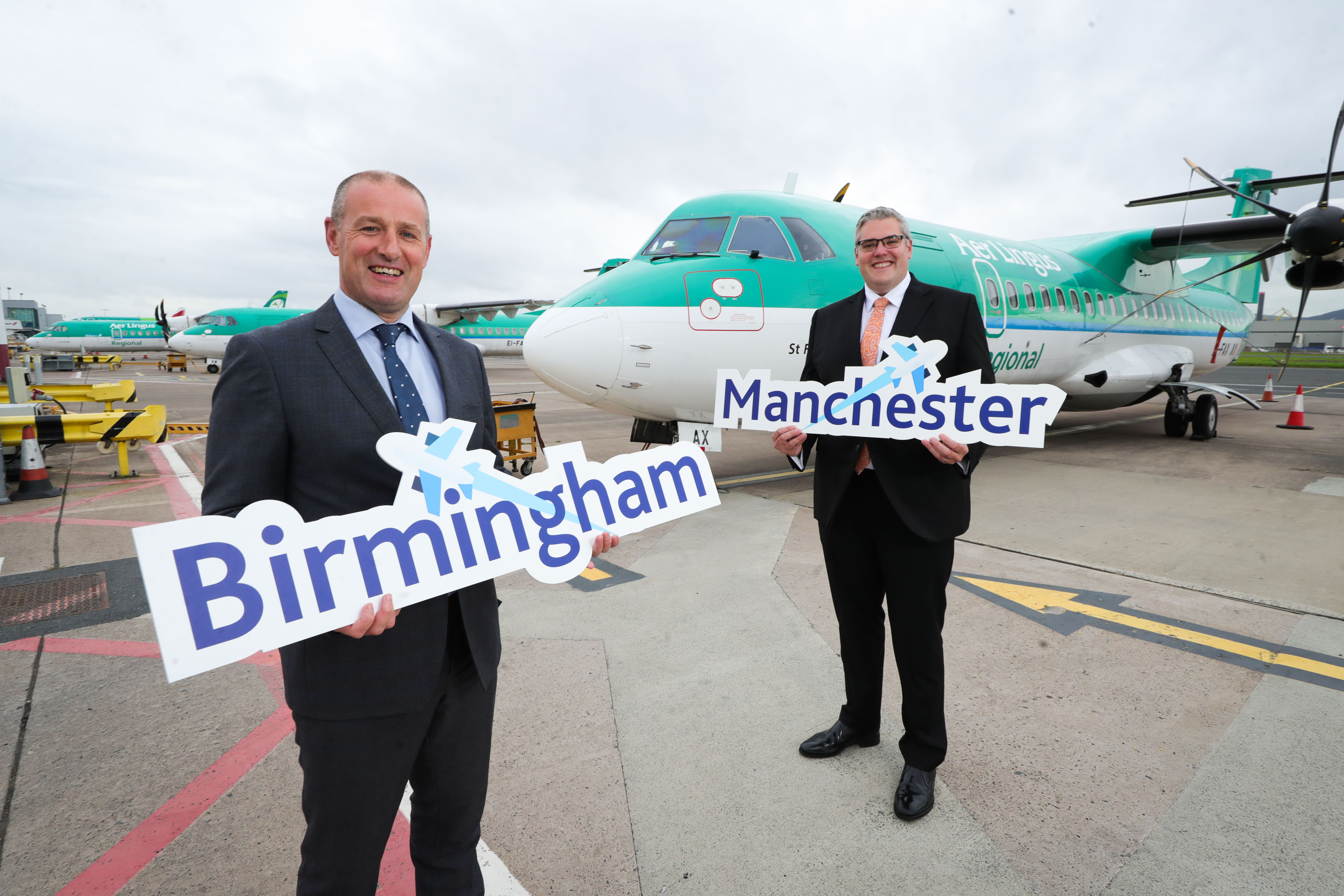 Birmingham and Manchester Services Take Off from Belfast City Airport