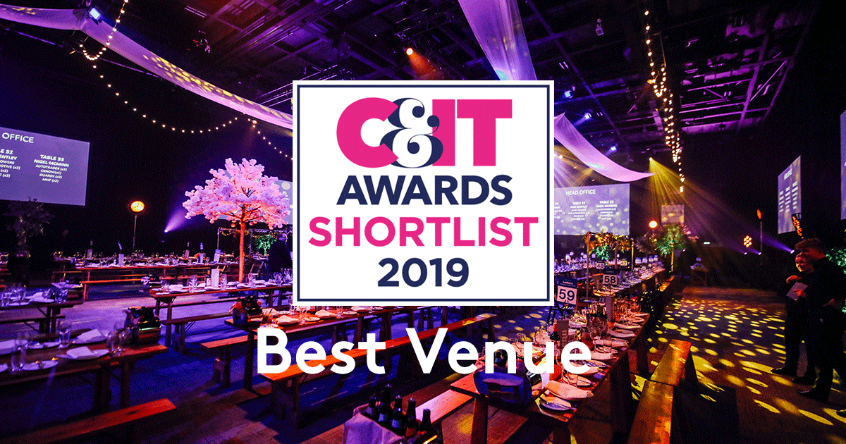 ICC Belfast C&IT Award Shortlist Best Venue