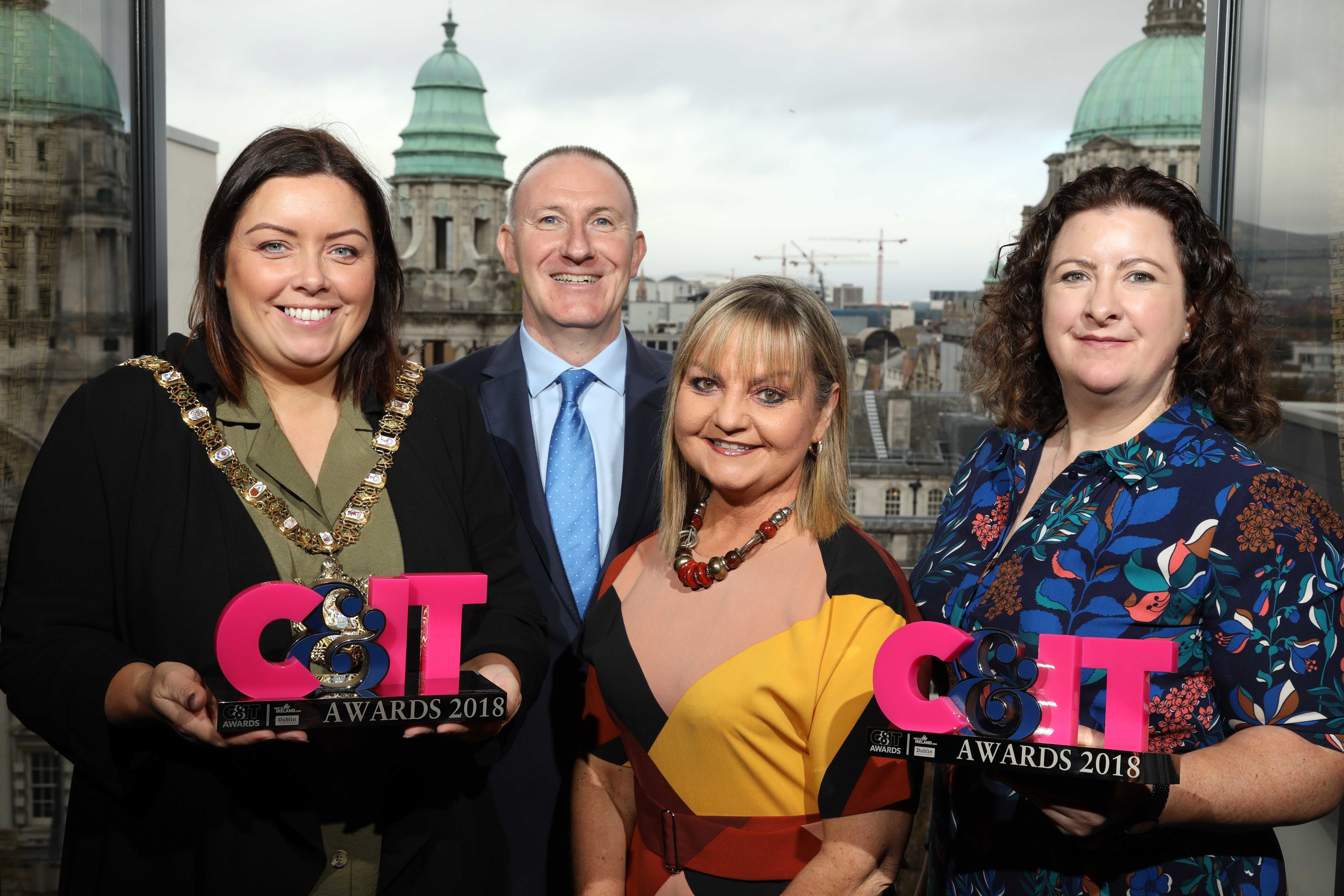 Team Belfast with the C&IT Award for Best Destination