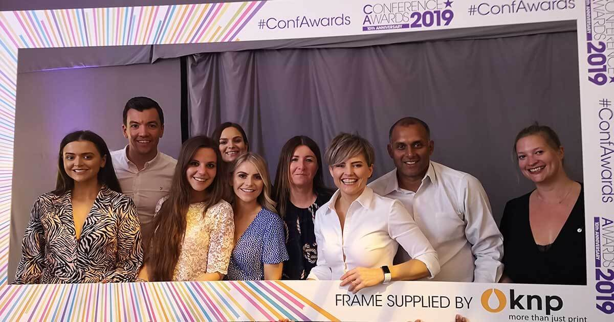 Conference Awards 2019 ICC Belfast