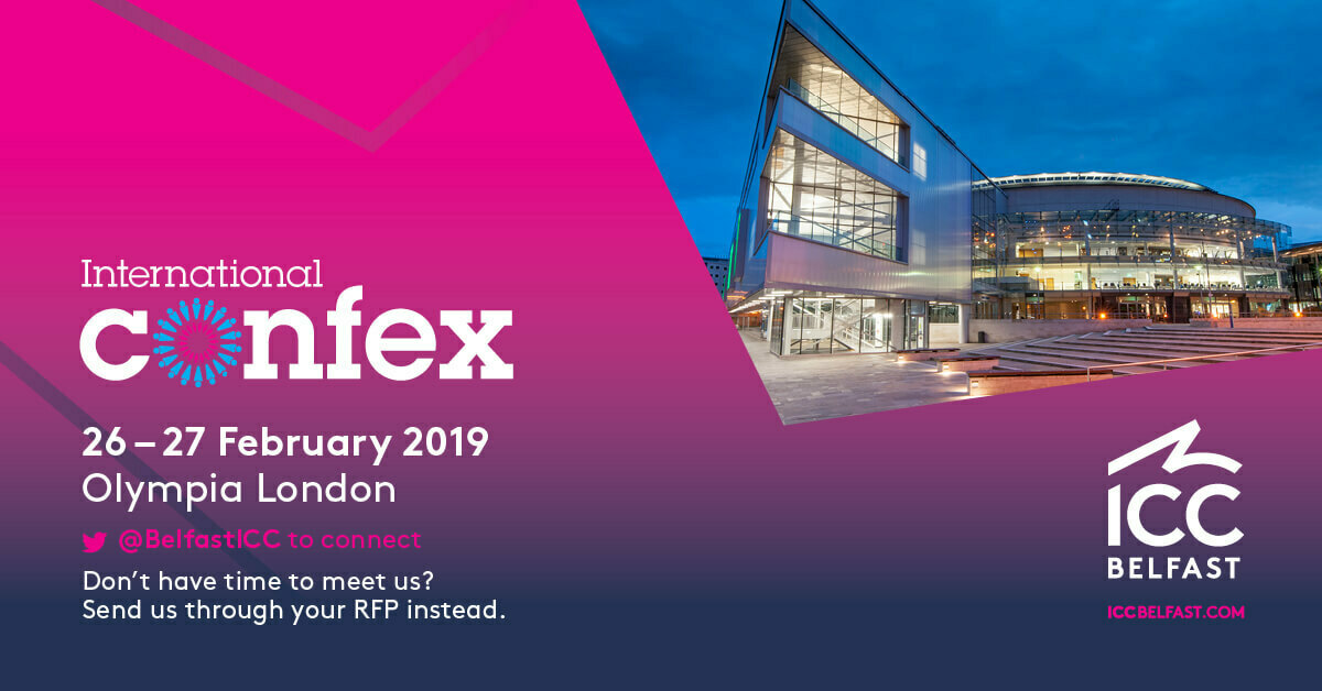 Join us at International Confex 2019 | ICC Belfast