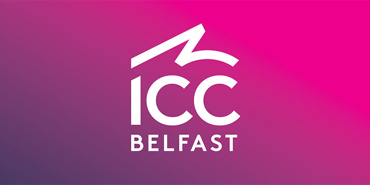 ICC Belfast Pink Background