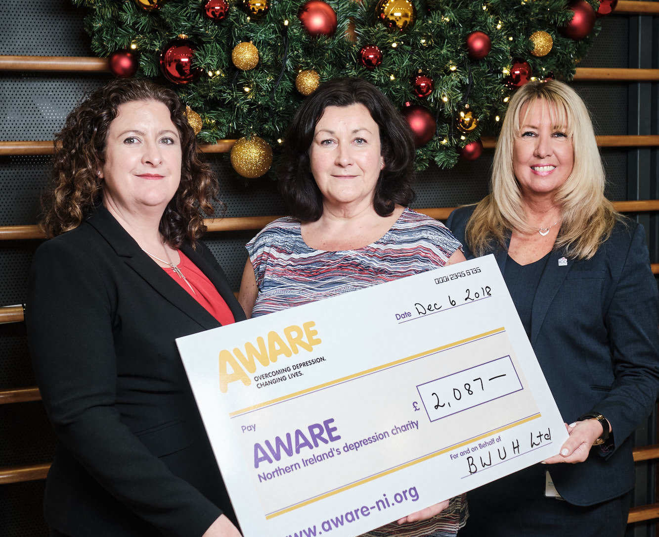 ICC Belfast Corporate Social Responsibility Charity Donation