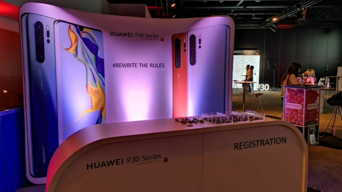 Huawei P30 Series product launch | ICC Belfast