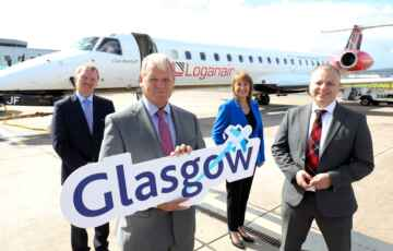 Loganair Commence Belfast City to Glasgow Service